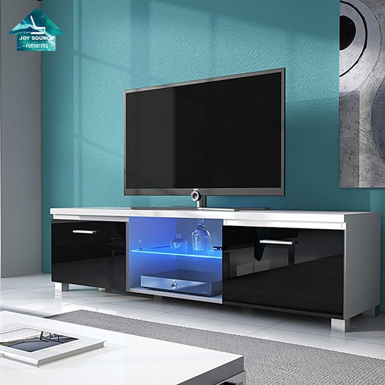 2021 новый дизайн Современная Гостиная MDF деревянная светодиодная Подставка для телевизора