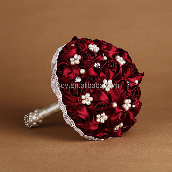 Passionate Red Rose Flower Bouquet Wedding Balls Buy For Weddings Bridal Product On Alibaba Com