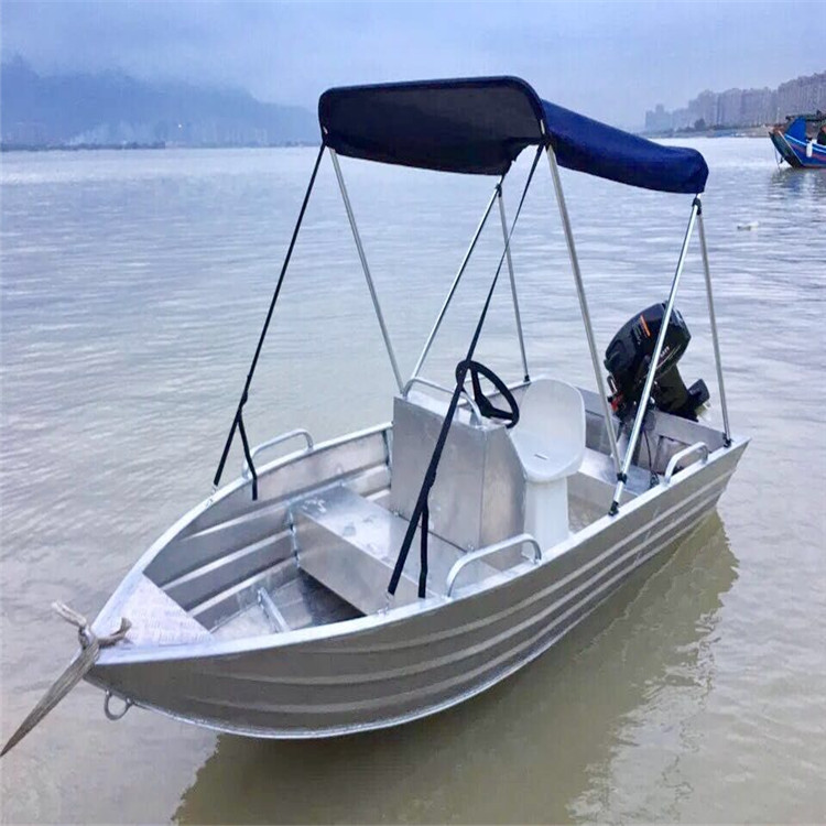 16ft Aluminum Speed Boat Fishing Boat With Canopy - Buy Fishing
