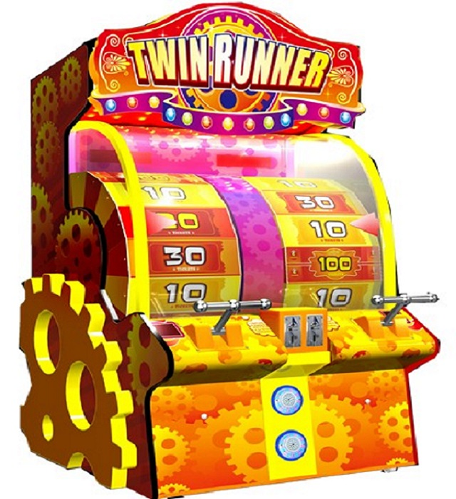 GM6253 cabinet slot machine redemption game machine play for kids and adults