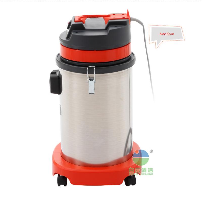 Новый стильный промышленный пылесос для сухой и влажной уборки из нержавеющей стали, 15 л, amazon