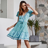 Light Blue boho dress
