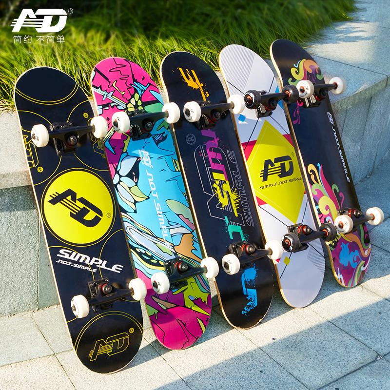 "Skateboard 31/"" Pro Complete Skateboard 7 Layer Maple Wood Skateboard Deck Abec 9"
