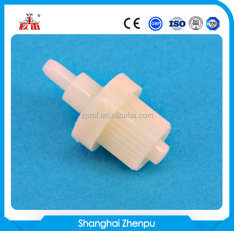 disposable medical liquid filter for infusion set