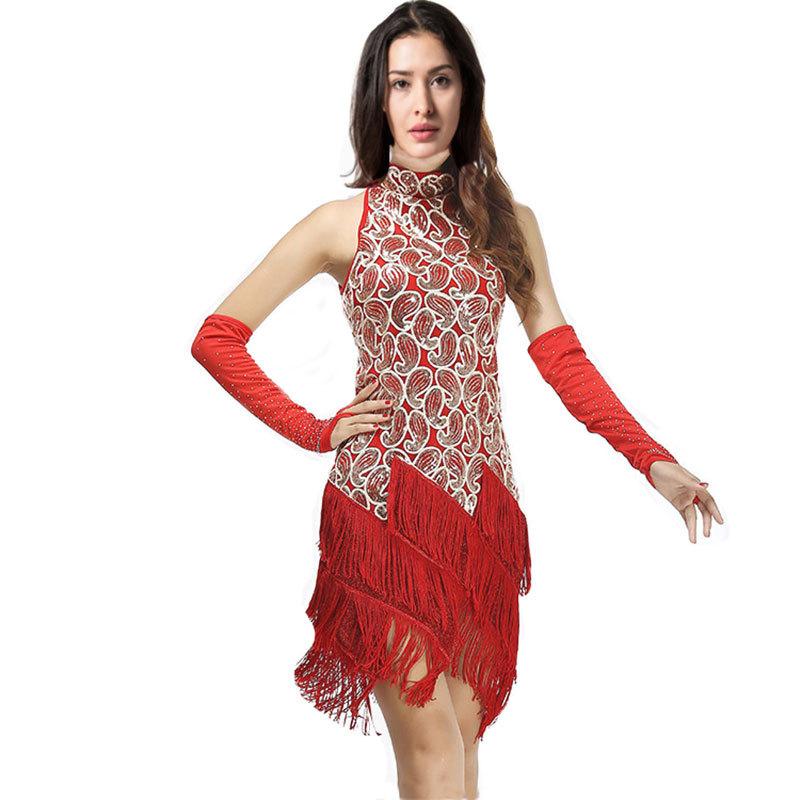 Women Latin Dance Dress Women Ballroom Dancing Dresses ...