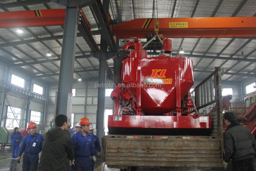 40-17 cementing skid mounted