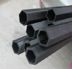 Глянцевая матовая Шестигранная трубка из углеродного волокна 3K 16 мм высокого качества