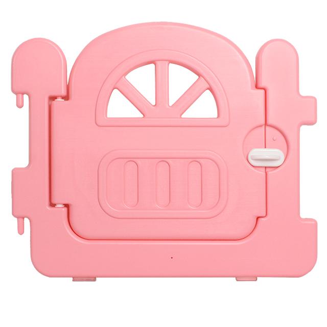 Round Corner Safety PE Children's  Plastic Playpen Fence Baby Safety Playpen With Side