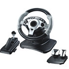 Vibration Racing Game Wheel For PS2 PS3 USB ,double vibration steering wheel , racing game steering wheel joystick
