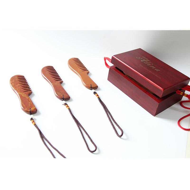Каменная расческа Red Bian, инструмент для массажа головы в качестве Восточного волшебного камня, особый подарок