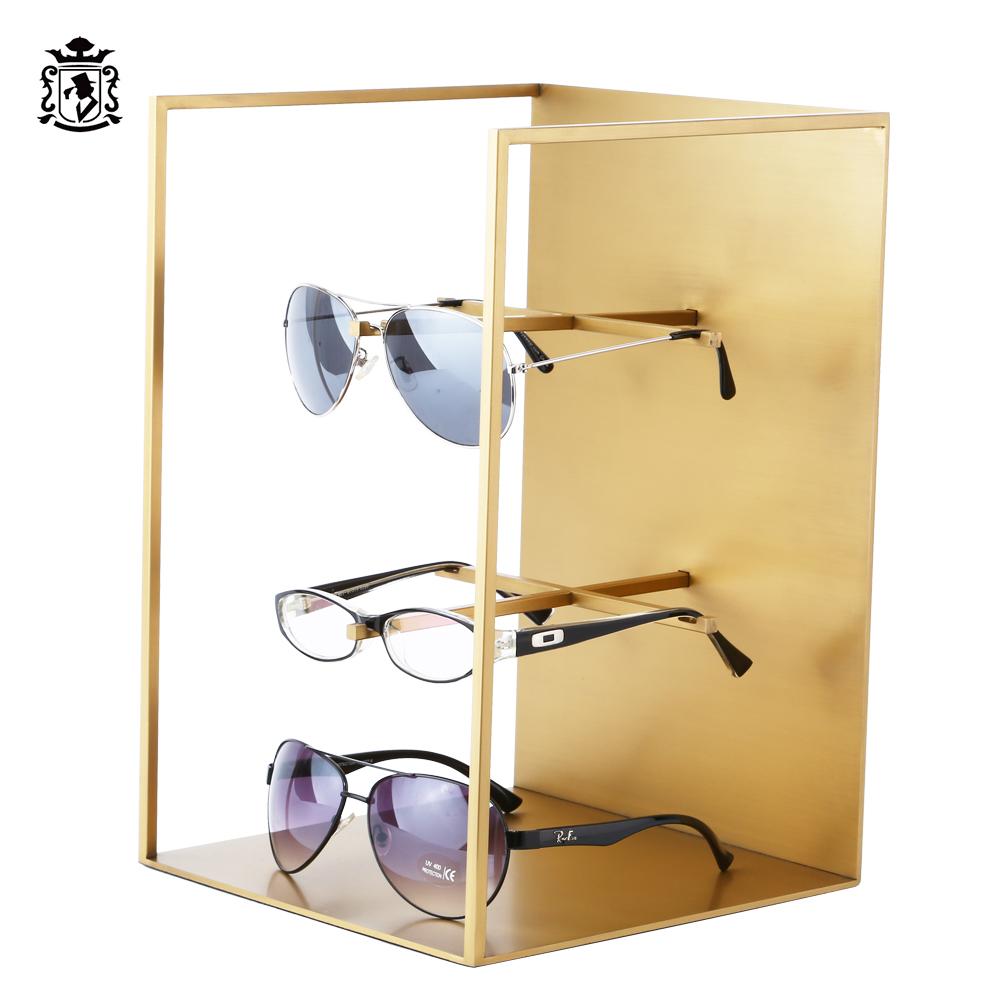 Professional Custom Logo Sunglasses Store Eyewear Display Glasses Stand
