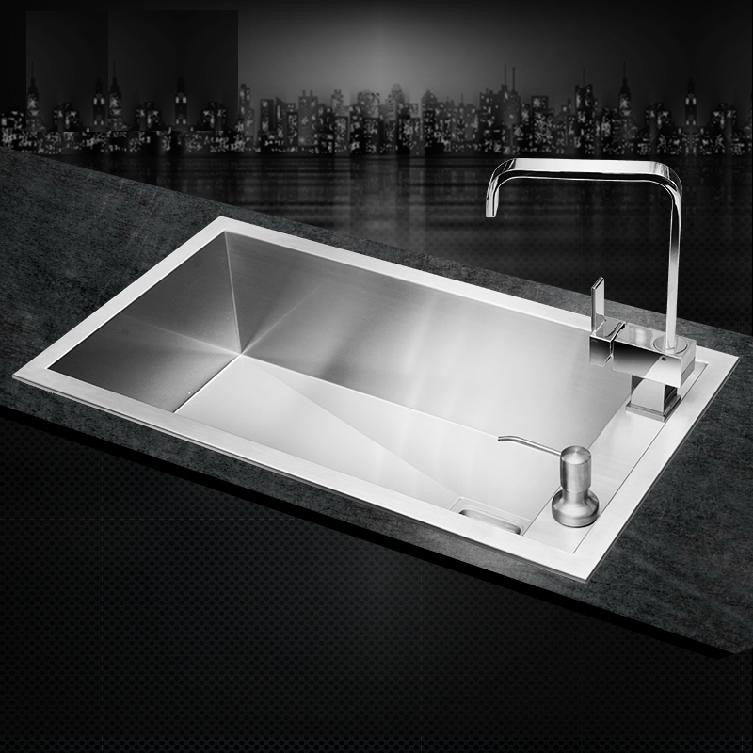 Discount Kitchen Sinks: Aliexpress.com : Buy SUS304 Stainless Steel Kitchen Sink