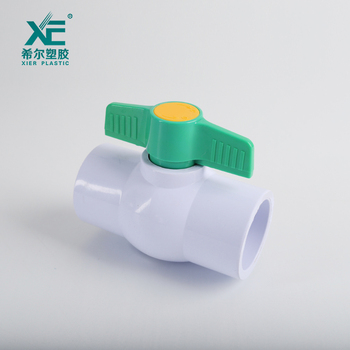 XE durable free sample normal pressure 1 ball valve pvc