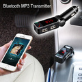 Free Shipping In Car Hands Free Calling Wireless Bluetooth Car Kit Cigarette Lighter MP3 Transmitter Charger
