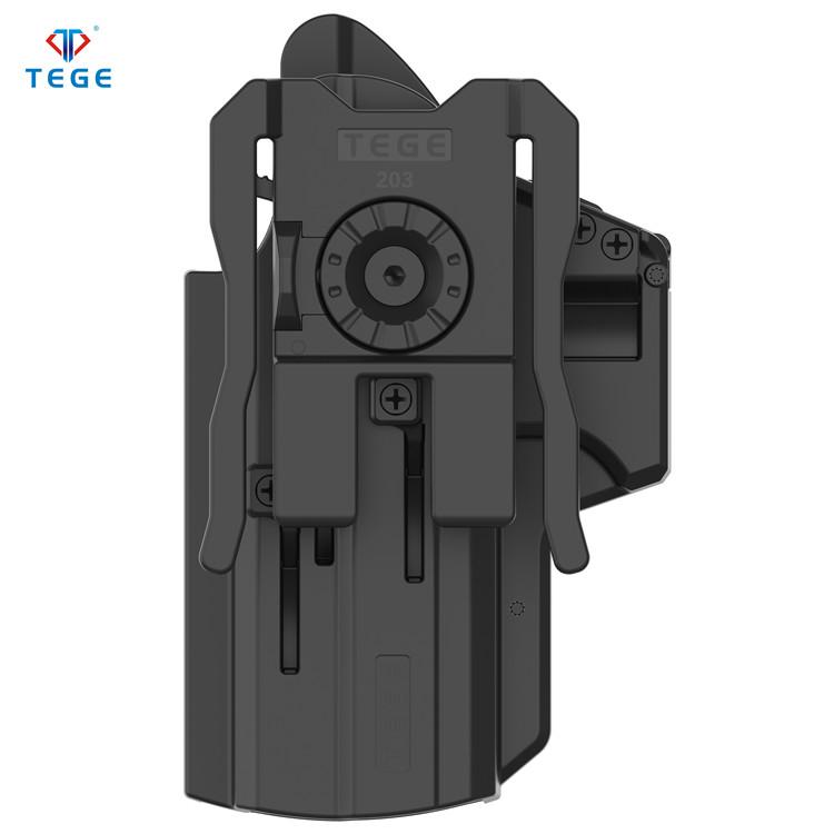 Универсальная тактическая кобура IPSC для соревнований по стрельбе с системой MOLLE