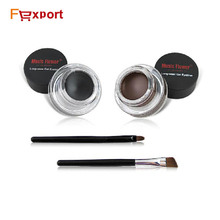 eb330954ad4 Best Seller 2 in One Brown + Black Gel Eyeliner Long Wear Eyes Make Up  Waterproof