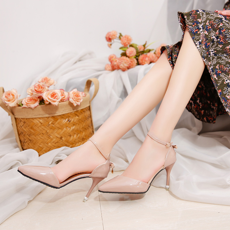 Beautiful Women Ladies Pointed Toes Summer High Heel Fancy Sandals Dress  Casual Shoes For Girls - Buy High Heel Shoes,Pointed Toes Shoes,Fancy  Sandals For Girls Product on Alibaba.com