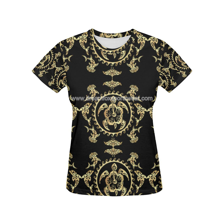 Youth Full Sublimation Tribal Pattern T