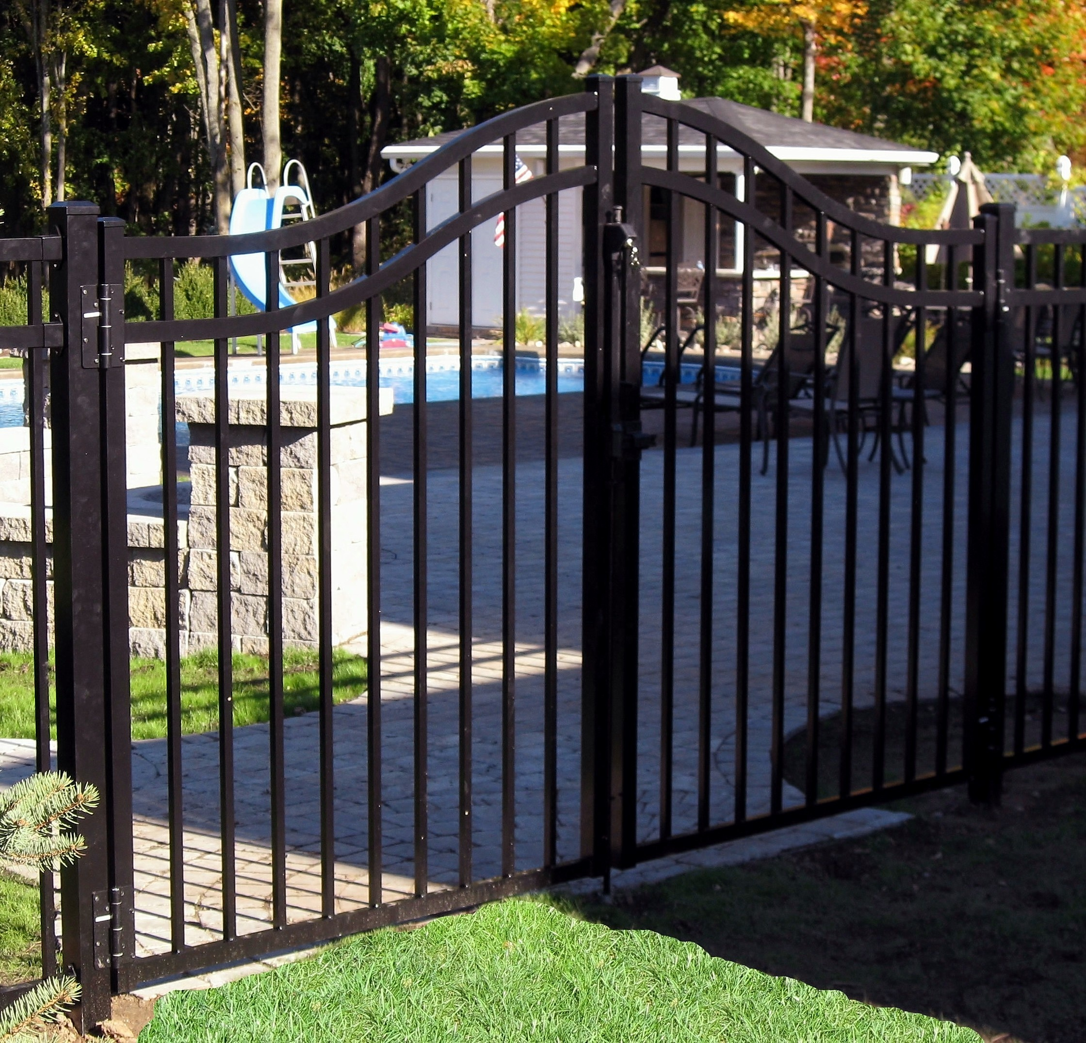 House Main Gate Designs Sliding Gate Design View Steel Gate Designs Oumei Product Details From Foshan Cxoumei Technology Co Ltd On Alibaba Com