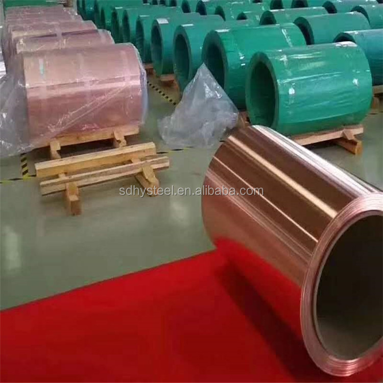 good price and quality red copper strip