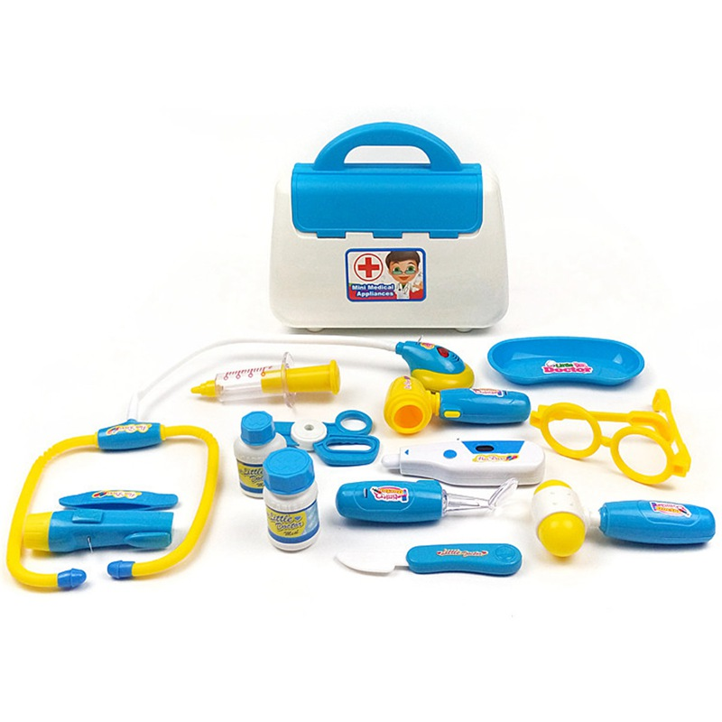 2019 Pretend Doctor Role Play Toy Set Simulation Medicine Medical