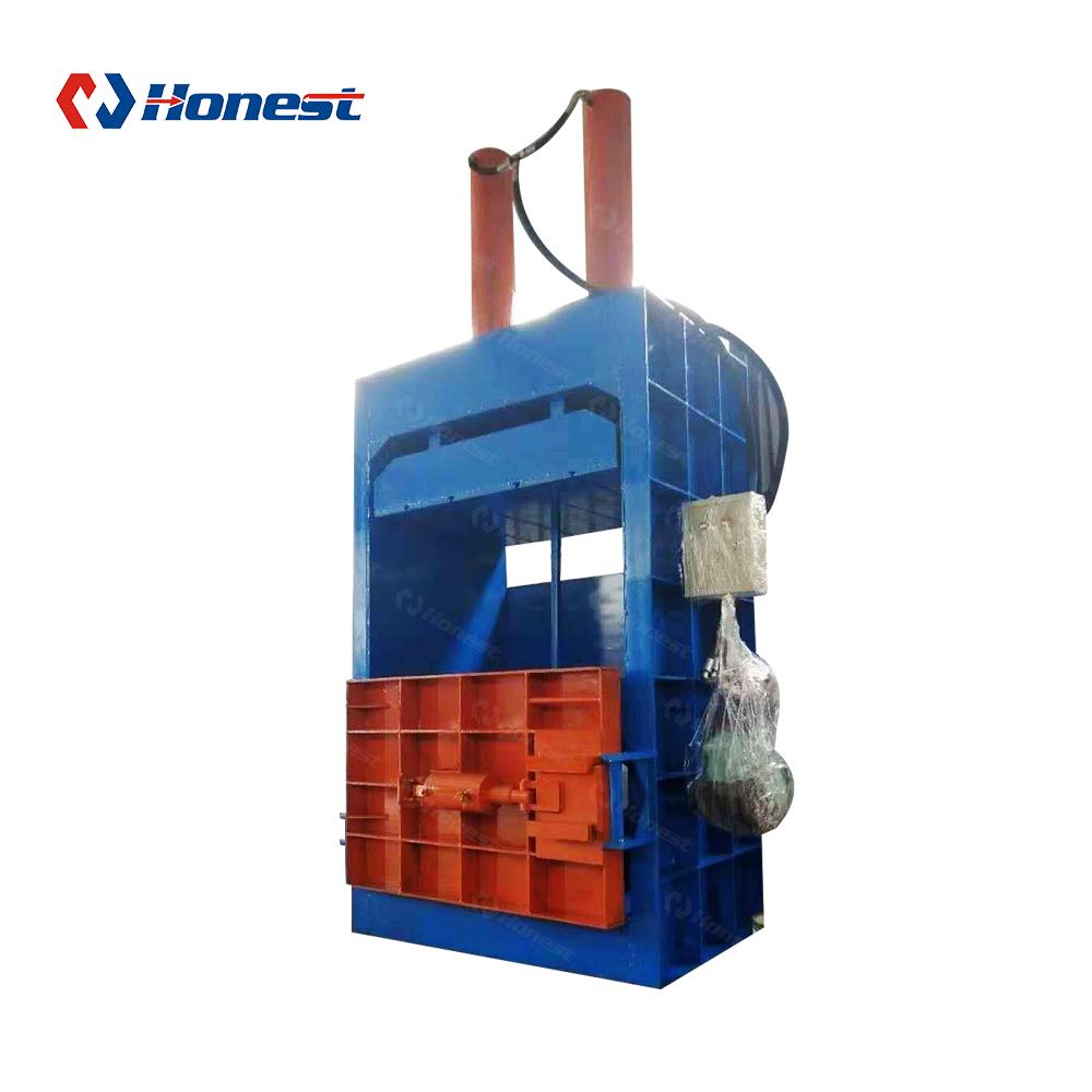 Гидравлический вертикальный металлический алюминиевый пресс-подборщик