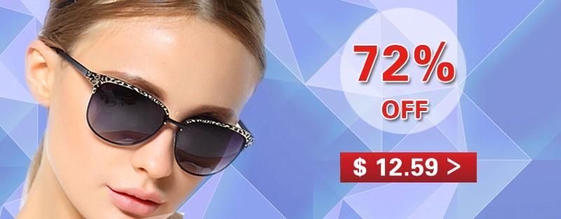 BEOLOWT מותג האינדיבידואליות אופנה משקפי שמש פולארויד נשים מקוטב נהיגה סגסוגת משקפי שמש משקפי שמש לנשים BL303