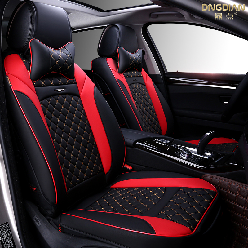 new 6d sport car seat cover general cushion senior leather car covers car styling for bmw audi. Black Bedroom Furniture Sets. Home Design Ideas