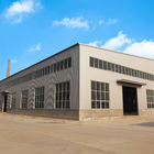 Industrial Warehouse Prefabricated Industrial Metal Factory Building Steel Structure Warehouse