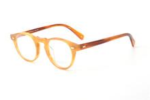 Gregory Peck OV5186 винтажные очки для женщин, прозрачная оправа, мужские круглые очки, оптическая оправа для линз по рецепту, круглые очки(Китай)