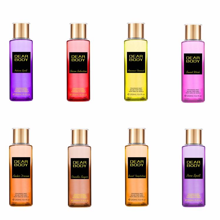 Dear Body body spray 250 ml high quality Spicy Scent and Spray Form Perfume