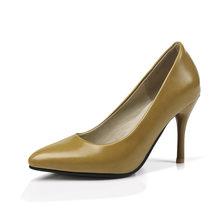 MORAZORA/женские туфли-лодочки; Новинка 2020 года; Модельные туфли в стиле ретро; Женская офисная обувь с закрытым носком на тонком высоком каблук...(Китай)
