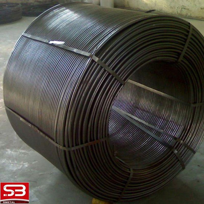 pure calcium metal cored wire