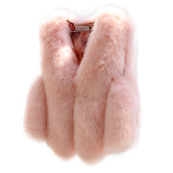 Best Selling Faux Fur Coat Ladies Women Delicate Faux Fox Fur Vest
