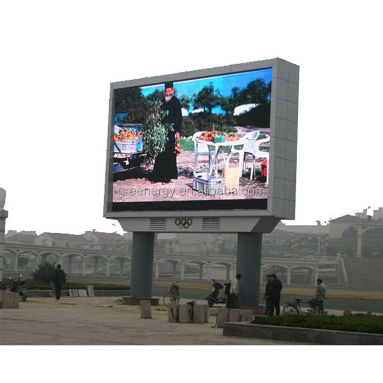 HD outdoor high quality full color advertising led display/led screen/led video wall / led panel p6