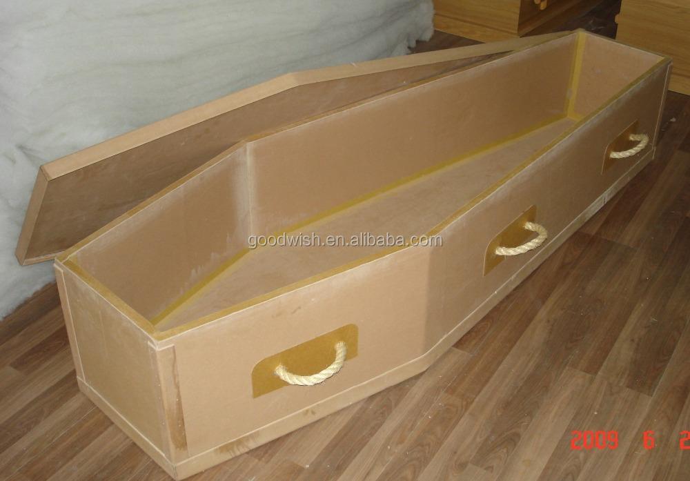 Eco Friendly Plain Cardboard Coffin