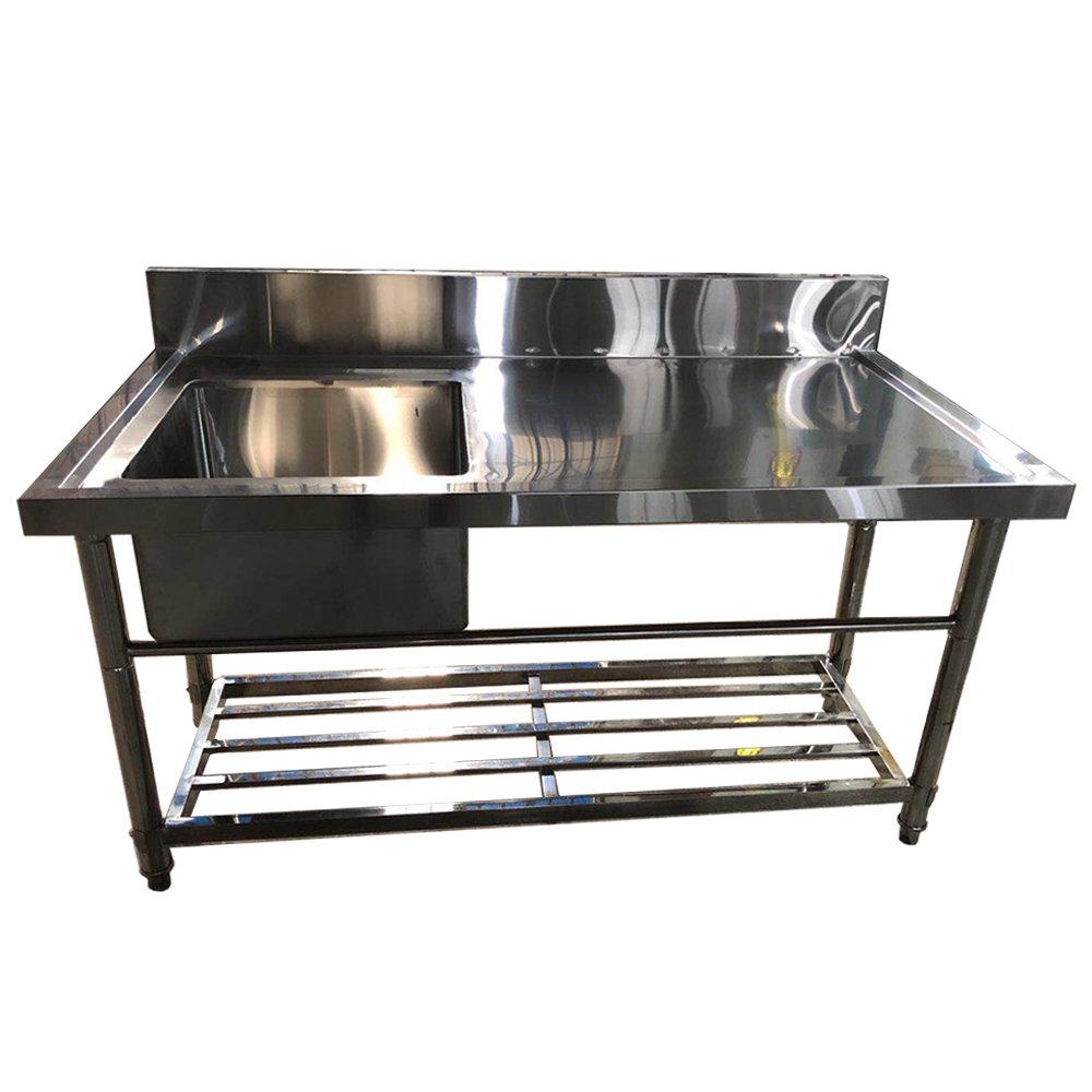 Excellent Quality 9 Grade Stainless Steel Table Top Kitchen ...
