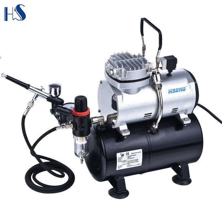 as189k silent airbrush compressor buy compresseur pneumatique master tattoos temporary product on alibaba com