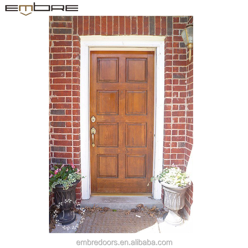 Philippines Narra Modern Plain Solid Wood Front Doors For Entrance Door View Modern Wood Front Doors Embre Product Details From Guangdong Embre Doors Windows Co Ltd On Alibaba Com