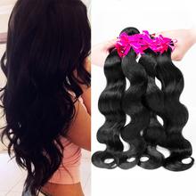 8A Peruvian Virgin Hair Body Wave 4 bundles Peruvain Body Wave Human Hair Weave Bundles Human