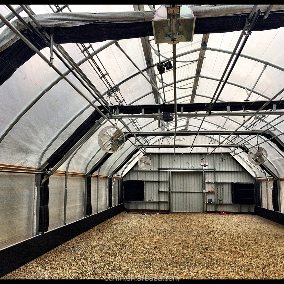 Agriculture Poly Tunnel Light Deprivation Blackout Greenhouse