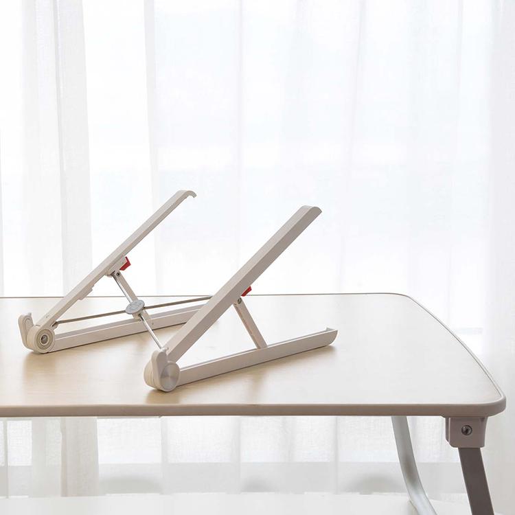Портативная Алюминиевая Регулируемая по высоте подставка для ноутбука