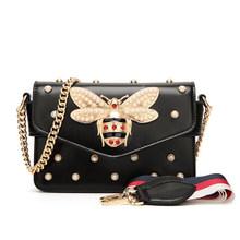 Модная женская сумочка со стразами, дизайнерская роскошная сумка-клатч, сумка через плечо из искусственной кожи, женская сумка через плечо ...(Китай)
