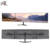 Swivel 150 Degree Adjustable Studio Triple Monitor Stand For 30 Inch