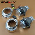 Car Styling Automobiles Full Metal Q5 H4 3 0 HID Bixenon Projector Lens Headlight With White