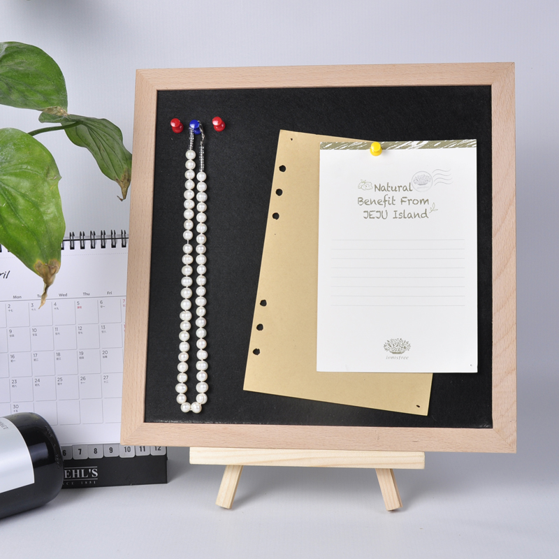 הרגיש הודעה לוח בד מכוסה מודעות משעם לוח עם פין