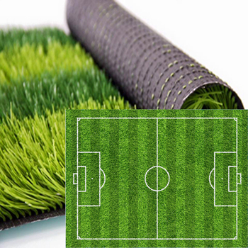 Professional 50mm Anti-UV Synthetic Football Lawn Soccer Sport Artificial Turf