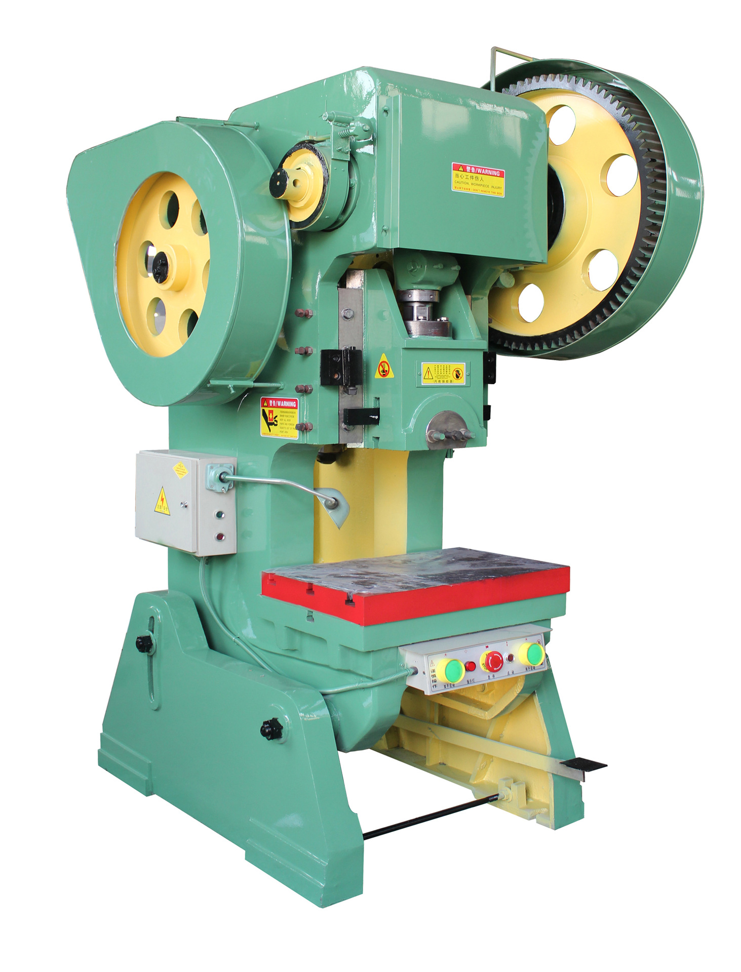 OEM J23-25T Small Power Press for Sale, Small Punching Machine for Flat Washer Making Machine