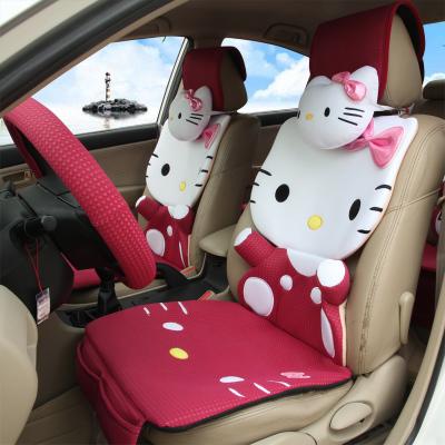 Beauty4car free shipping new lovely 12 pcs hello kitty - Hello kitty car interior accessories ...