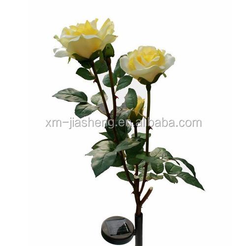 Produk Lampu Taman Tenaga Surya Gaya Bunga Mawar Dekorasi Lampu Matahari 3 Led Luar Ruangan Dengan Sertifikat Ce Buy Solar Rose Light Solar Flower Light Solar Rose Lamp Product On Alibaba Com